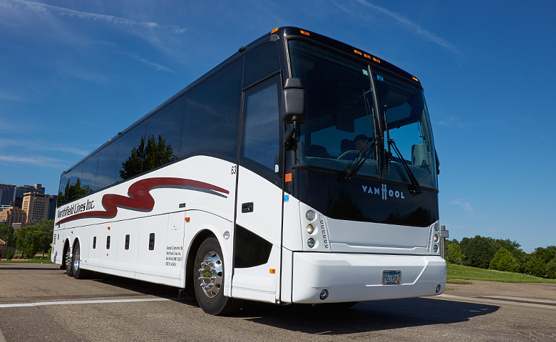 46 to 56 Passenger Motorcoaches - Northfield Lines - Call 888-670-8068 (Toll Free)