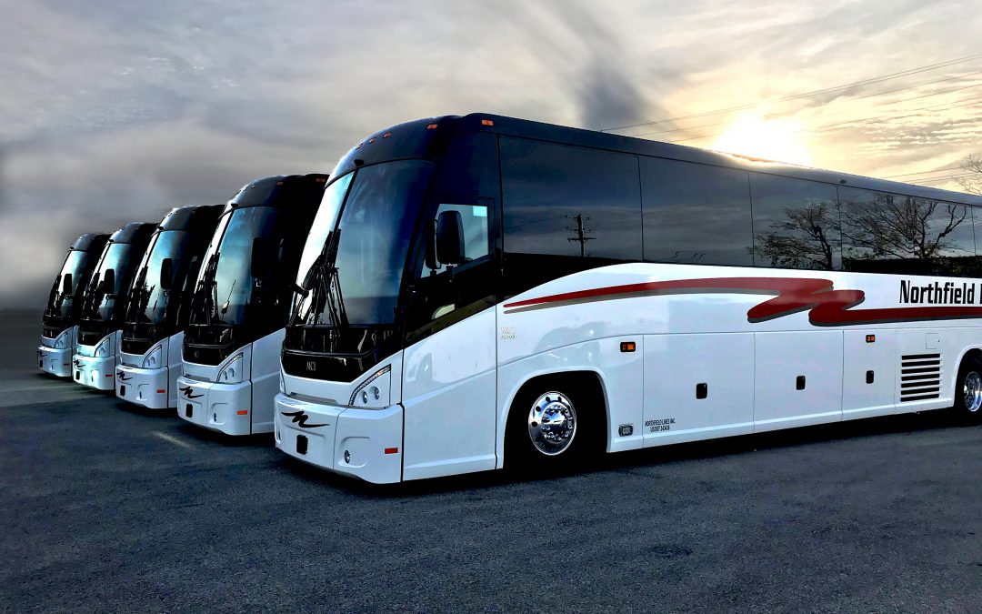Northfield Lines Takes Delivery of Five New 2018 MCI J4500s