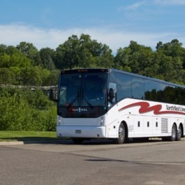 40 to 56 Passenger Motorcoaches - Call Northfield Lines on 888 670-8068 (Toll Free)