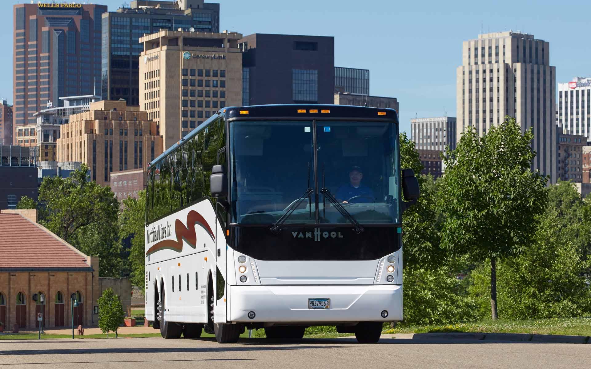 Charter Bus Rental Minneapolis Northfield Bus Lines Executive Shuttles